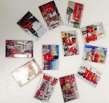 12 pcs I Love London England souvenirs fridge magnet set  Uk Stock Fast Ship