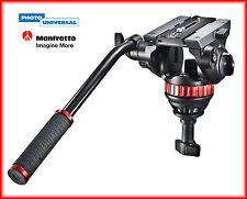MANFROTTO PRO FLUID VIDEO NEIGER MVH 502 A MIT 75MM HALBKUGEL NEU !!!