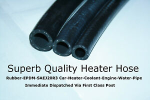 Rubber EPDM Car Heater Radiator Coolant Flexible Hose Engine Water Pipe SAEJ20R3
