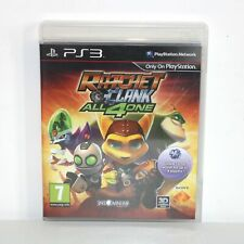 RATCHET & (AND) CLANK ALL 4 (FOR) ONE - SONY PLAYSTATION 3 PS3 GAME - VGC