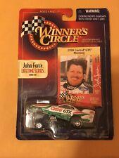 John Force 1998 Winners Circle Lifetime Series Bonus Card