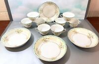 VINTAGE HARCO CHINA HAND PAINTED JAPAN DINNERWARE SET