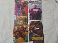 X-MEN BLACK COVER A ana VARIANTS set 1-5