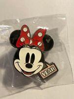 HKDL Emoji Mickey Pin Set Hidden Mickey Minnie Mouse Yeah  Disney Pin (B8)