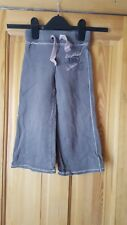 girls grey next tracksuit trousers size 3 years