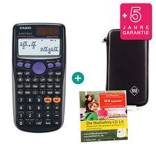 Casio FX 85 GT Plus Schwarz Taschenrechner + Schutztasche Lern-CD Garantie
