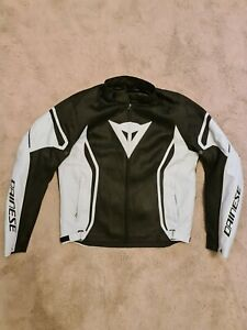 Dainese air crono 2 textile motorcycle jacket Large - black and grey rrp£169