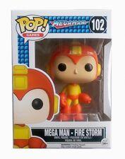 Funko pop! Games Megaman-Fire Storm Mega Man vinilo figure 10cm Limited #10362
