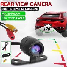 Reverse Backup 170 Mini CCD Car Front Rear View Camera Night Vision Waterproof