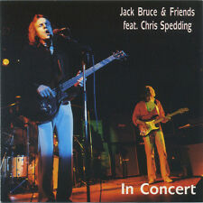 Jack Bruce feat.  Chris Spedding: In Concert cd Very rare