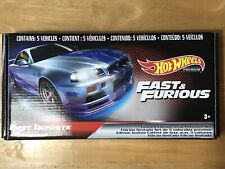 Hot Wheels Fast And Furious Fast Imports Premium Exclusive Box Set