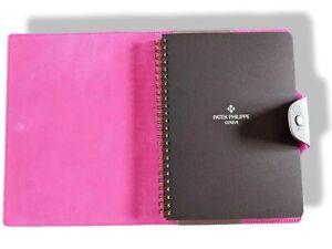 """Patek Philippe [AC14] Fuchsia Togo Calfskin """"ULYSSE MM"""" NoteBook Cover & Refill"""