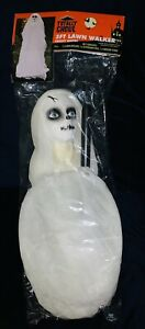 💀 NEW Halloween Decoration 3ft Lawn Walker White Creepy Ghost Scary Haunted 🎃