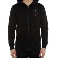 Nike Air Jordan Jumpman AJ5 Logo Mens Hoodie Black Size S Casual Sweatshirt