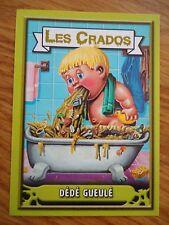 Image * Les CRADOS 3 N°144 * 2004 album card Sticker FRANCE Garbage Pail Kid