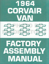 1964 Corvair 95 Van and Pickup Assembly Manual Greenbrier Rampside Corvan Chevy