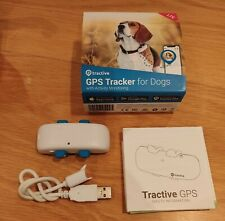 More details for tractive gps dog tracker for dog collar - never used (free postage)