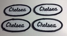 CHELSEA EMBROIDERED SEW ON NAME PATCH LOT OF 4 ~ NAME TAG