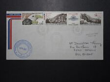 France TAAF 1986 Cover / Russian Cachet / Light Creasing - Z11101