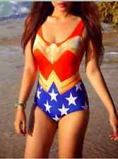 Wonder Woman One Piece Swim Suit Monokini Swimwear
