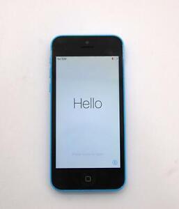 Apple iPhone 5C A1532 8GB Blue Verizon CDMA GSM Smartphone *A*