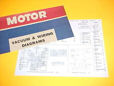 1975 1976 FORD ELITE MERCURY COUGAR XR-7 VACUUM+WIRING DIAGRAMS