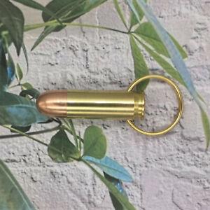 Schlüsselanhänger .45er Magnum Patrone. Aus Neuteilen angefertigt.