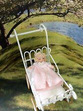 Dollhouse Miniature Porcelain Dollhouse Doll Ethel Hicks Angel Children Emily