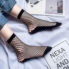 1 Pair Unique Fashion Womens Ladies Socks Small Fishnet Net Classic Black QUE