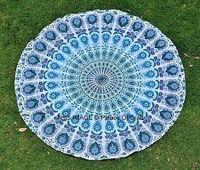 Indian Wall Hanging Round Mandala Tapestry Beach Throw Towel Yoga Mat Boho Decor
