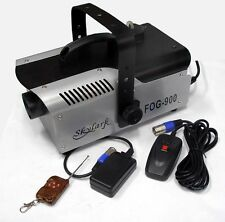 Brand New 900W  Professional PA DJ Fog Machine Cord&Cordless Remote Free Postage