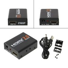 2160P 3D 4K*2K HD HDMI 2.0 Repeater Signal Amplifier Extender Booster Adapter