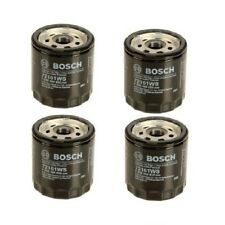 Set of 4 Bosch Oil Filters 93186554 For: SAAB 900 9000 9-3 9-5 1979 1980 - 2009