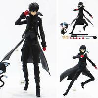 Persona 5 Shujinkou and Morgana Joker Figma 363# Anime Figure Toy In Box