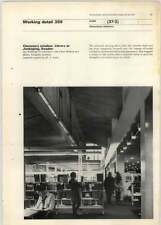 1971 Clerestory Window In Library At Jonkoping Sweden, Jan Wallinder
