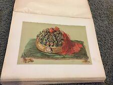 Cap of the Emperor of China 12 X 16 Antique Print