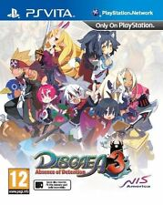Disgaea 3: Absence of Detention (PS Vita) BRAND NEW SEALED