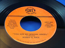 BOBBY G. RICE - You Are My Special Angel / I Want To Feel It When You Feel It