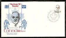 Canada SC # 592 Louis ST.Laurent FDC. Kingswood Cachet