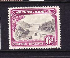 JAMAICA  1932  6d  RIVER  MLH   SG 113