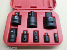 "IMPACT ADAPTOR SET 8 Pc 1/4"" 3/8"" 1/2"" 3/4"" 1"" Sq.Dr CrV CrMo ADAPTER SET"