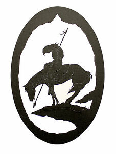 End of the Trail Native American Indian Wall Plaque