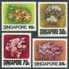 Singapore 319-322,MNH.Michel 325-328. Vanda Orchids 1979.