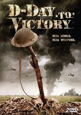 D-Day to Victory (DVD 2 disc) war documentary NEW