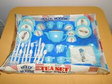 VINTAGE TOY  1974 HOLLY HOBBIE TEA SET IN BOX SERVICE FOR 6 UNUSED