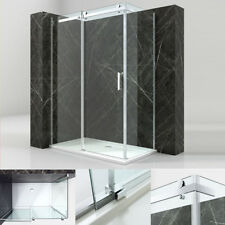 Duschkabine Duschabtrennung Dusche Duschwand Schiebetür 8mm 140x100 NANO K14 NEU