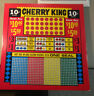 Punchboard Cherry king with slot machine symbols  New Unpunched   Vintage
