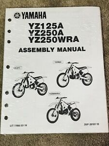 Yamaha Yz125 Motorcycle Repair Manuals Literature For Sale Ebay