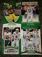 4 2020 Panini Contenders Game Day Ticket Rookie RC Justin Herbert Draft Class #1