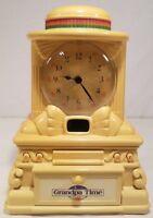 Vintage Homestar Grandpa Story Time Clock 1988 with Original Power Cord
